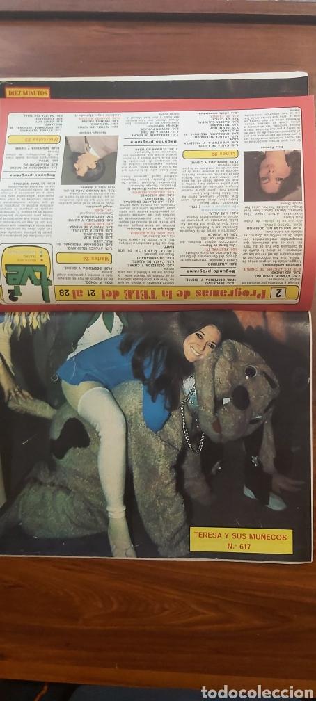 Coleccionismo de Revista Diez Minutos: revista diez minutos 1540 AMPARO MUÑOZ MARIVI DOMINGUIN TERESA Y SUS MUÑECOS COMPLETA - Foto 3 - 261900895