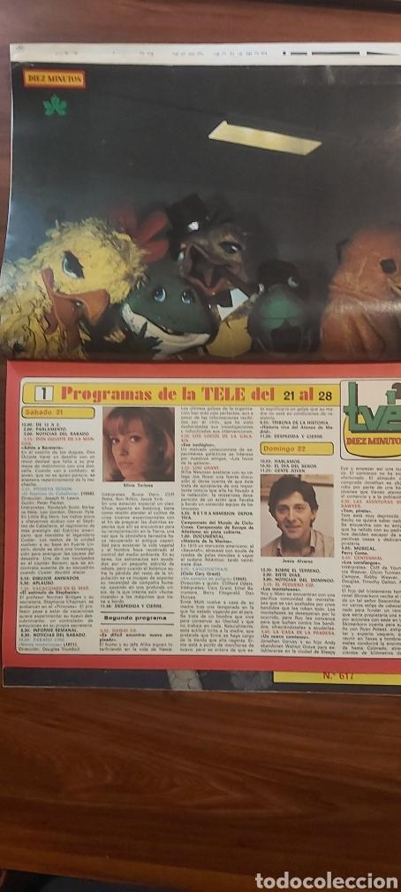 Coleccionismo de Revista Diez Minutos: revista diez minutos 1540 AMPARO MUÑOZ MARIVI DOMINGUIN TERESA Y SUS MUÑECOS COMPLETA - Foto 4 - 261900895