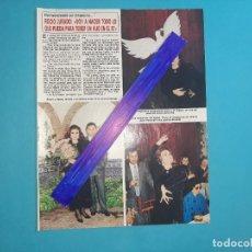 Coleccionismo de Revista Diez Minutos: ROCIO JURADO VOY A INTENTAR TENER UN HIJO EN EL 87 -ENTREVISTA- RECORTE 1 PAG -DIEZ MINUTOS AÑO 1987. Lote 262328240