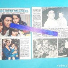 Coleccionismo de Revista Diez Minutos: ANTONIO RIVERA HABLA DE LA HERENCIA DE PAQUIRRI -ENTREVISTA- RECORTE 2 PAG -DIEZ MINUTOS AÑO 1987. Lote 262328370
