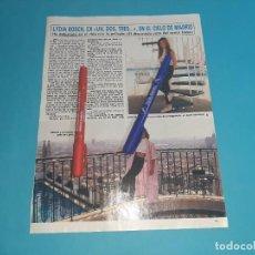 Coleccionismo de Revista Diez Minutos: LYDIA BOSCH DEBUTA EN PELICULA DISPUTADO SEÑOR CAYO-ENTREVISTA- RECORTE 2 PAG- DIEZ MINUTOS AÑO 1986. Lote 262331030