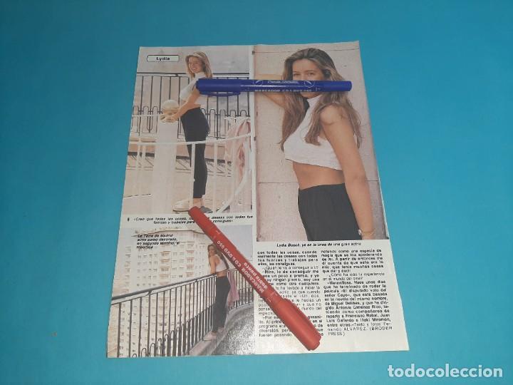 Coleccionismo de Revista Diez Minutos: LYDIA BOSCH DEBUTA EN PELICULA DISPUTADO SEÑOR CAYO-ENTREVISTA- RECORTE 2 PAG- DIEZ MINUTOS AÑO 1986 - Foto 2 - 262331030