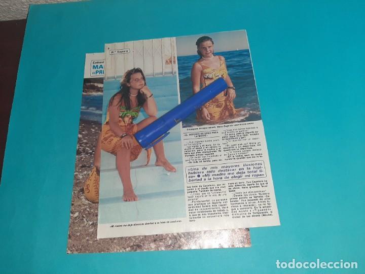Coleccionismo de Revista Diez Minutos: MARIA EUGENIA MARTINEZ IRUJO - ENTREVISTA - RECORTE 4 PAG- DIEZ MINUTOS AÑO 1986 - Foto 2 - 262331160