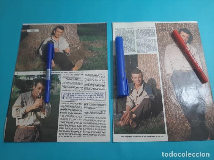 Coleccionismo de Revista Diez Minutos: JUAN DIEGO - ENTREVISTA - RECORTE 4 PAG- DIEZ MINUTOS AÑO 1986 - Foto 2 - 262331190