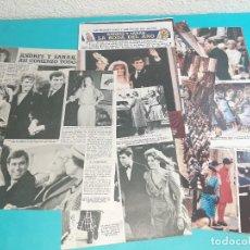 Coleccionismo de Revista Diez Minutos: ANDRES Y SARAH FERGUNSON-ASI EMPEZO TODO Y SU BODA - RECORTE 19 PAG- DIEZ MINUTOS AÑO 1986. Lote 262331220