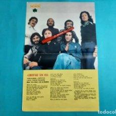 Coleccionismo de Revista Diez Minutos: LIBERTAD SIN IRA - PLIEGO CENTRAL REVISTA- RECORTE - DIEZ MINUTOS AÑO 1976. Lote 262492755