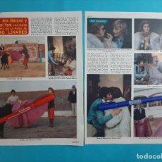 Coleccionismo de Revista Diez Minutos: ANN MARUET MICHAEL YORK INVITADOS FINCA PALOMO LINARES- 2 PAG- RECORTE DIEZ MINUTOS AÑO 1976. Lote 262493855