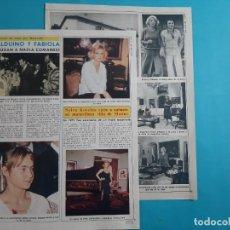 Coleccionismo de Revista Diez Minutos: SYLVA KOSCINA SACA A SUBASTA VILLA DE MARINO - 3 PAG- RECORTE DIEZ MINUTOS AÑO 1976. Lote 262493915