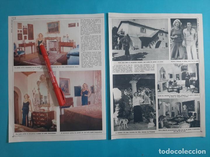 Coleccionismo de Revista Diez Minutos: SYLVA KOSCINA SACA A SUBASTA VILLA DE MARINO - 3 PAG- RECORTE DIEZ MINUTOS AÑO 1976 - Foto 2 - 262493915