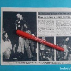 Coleccionismo de Revista Diez Minutos: ROBERTO THE ROCKERS- RECORTE DIEZ MINUTOS AÑO 1976. Lote 262493975