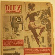 Coleccionismo de Revista Diez Minutos: REVISTA DIEZ MINUTOS Nº 217 1955. Lote 262614825
