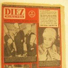 Coleccionismo de Revista Diez Minutos: REVISTA DIEZ MINUTOS Nº 490 1961. Lote 262615655