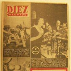 Coleccionismo de Revista Diez Minutos: REVISTA DIEZ MINUTOS Nº 276 1956. Lote 262615865