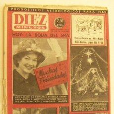 Coleccionismo de Revista Diez Minutos: REVISTA DIEZ MINUTOS Nº 436 1960. Lote 262616080