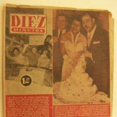 Coleccionismo de Revista Diez Minutos: REVISTA DIEZ MINUTOS Nº 230 1956. Lote 262616275
