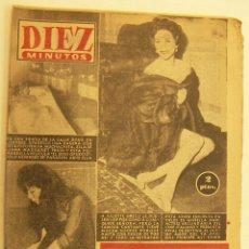 Coleccionismo de Revista Diez Minutos: REVISTA DIEZ MINUTOS Nº 291 1957. Lote 262616490