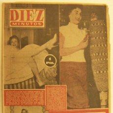 Coleccionismo de Revista Diez Minutos: REVISTA DIEZ MINUTOS Nº 199 1955. Lote 262616715