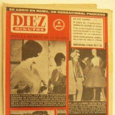 Coleccionismo de Revista Diez Minutos: REVISTA DIEZ MINUTOS Nº 466 1961. Lote 262617575