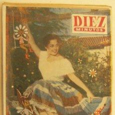 Coleccionismo de Revista Diez Minutos: REVISTA DIEZ MINUTOS Nº EXTRAORDINARIO PRIMAVERA AÑO 1956. CARMEN SEVILLA. Lote 262617930