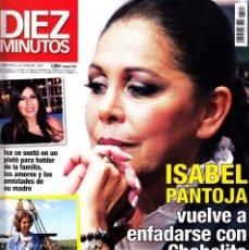 Coleccionismo de Revista Diez Minutos: REVISTA DIEZ MINUTOS NUMERO 3507 ISABEL PANTOJA. Lote 262938215