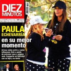 Coleccionismo de Revista Diez Minutos: REVISTA DIEZ MINUTOS NUMERO 3509 PAULA ECHEVARRÍA. Lote 262939560