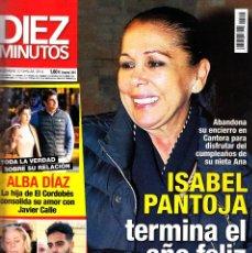 Coleccionismo de Revista Diez Minutos: REVISTA DIEZ MINUTOS NUMERO 3514 ISABEL PANTOJA. Lote 262941020