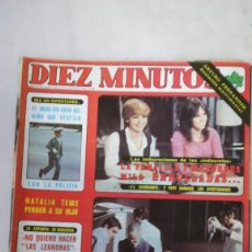 Coleccionismo de Revista Diez Minutos: DIEZ MINUTOS TENAILKE, M. MILA, NADIUSKA, AZUCENA HERNÁNDEZ MISS CATALUÑA. VER SUMARIO. 1978. Lote 262957935