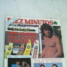 Coleccionismo de Revista Diez Minutos: DIEZ MINUTOS N°1567. VER SUMARIO Y FOTOS. 1981. Lote 262958440
