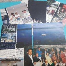 Coleccionismo de Revista Diez Minutos: CONSTANTINO- ANA MARIA GRECIA- SIMEON Y MARGARITA BULGARIA EN EL AMAZONAS- RECORTE 10 PAG - AÑO 1987. Lote 263094745