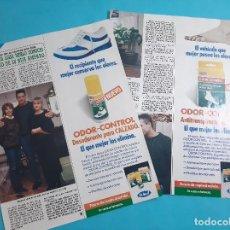 Coleccionismo de Revista Diez Minutos: MARIA LUISA MERLO CONOCIO AL NOVIO DE SU HIJA AMPARO - ENTREVISTA - RECORTE 3 PAG - AÑO 1986. Lote 263097720