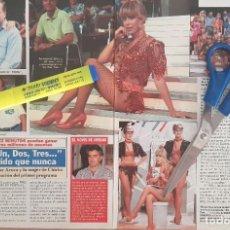 Coleccionismo de Revista Diez Minutos: REPORTAJE MIRIAM DÍAZ AROCA. REVISTA DÍEZ MINUTOS 27/09/91. Lote 263188505