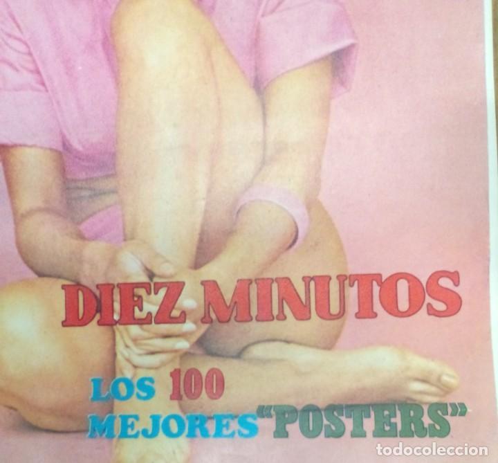 Coleccionismo de Revista Diez Minutos: Libro de 100 póster de artistas años 70 de la revista 10 minutos - Foto 2 - 263189410