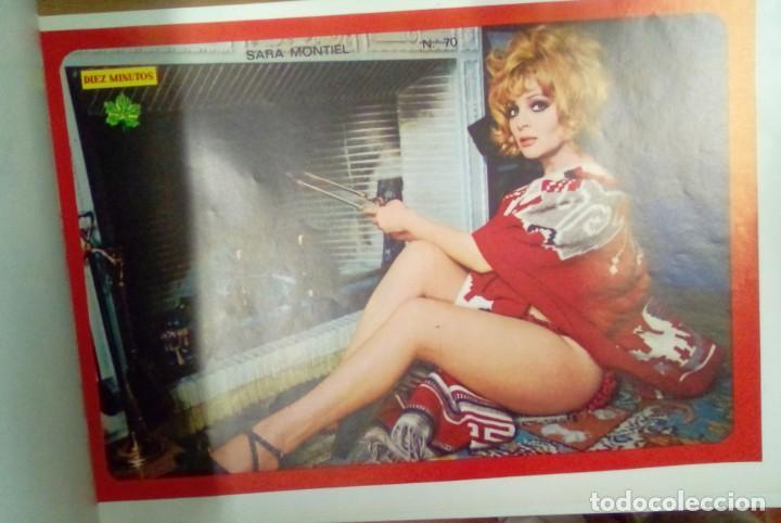Coleccionismo de Revista Diez Minutos: Libro de 100 póster de artistas años 70 de la revista 10 minutos - Foto 4 - 263189410