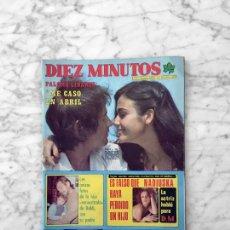 Coleccionismo de Revista Diez Minutos: DIEZ MINUTOS - 1977 LYNNE FREDERICK, MIGUEL GALLARDO, MARY FRANCIS, NADIUSKA, SILVIA TORTOSA, MICKY. Lote 263278465