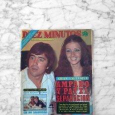 Coleccionismo de Revista Diez Minutos: DIEZ MINUTOS 1978 AMPARO MUÑOZ, UN DOS TRES, AFRICA PRATT, URSULA ANDRESS, MILIKITO, RAFAELLA CARRA. Lote 263549630