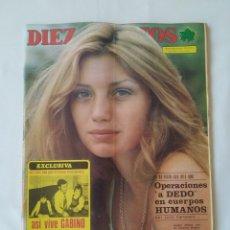 Coleccionismo de Revista Diez Minutos: REVISTA DIEZ MINUTOS.NUM.1221,ANGELA MOLINA,MARISA BEL. Lote 264496944