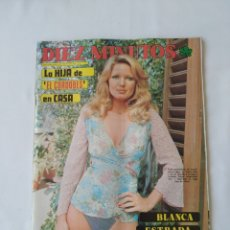 Colecionismo da Revista Diez Minutos: REVISTA DIEZ MINUTOS NUM.1224,BLANCA ESTRADA, SALVADOR DALÍ. Lote 264497479