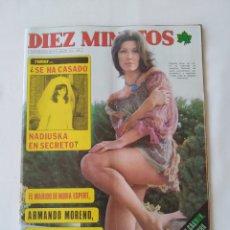 Coleccionismo de Revista Diez Minutos: REVISTA DIEZ MINUTOS NUM.1228, MICHAEL LANDON,CLAUDIA GRAVY. Lote 264498194