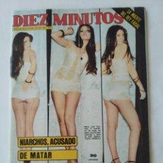 Coleccionismo de Revista Diez Minutos: REVISTA DIEZ MINUTOS NUM.1232, MARÍA JOSÉ CANTUDO,SANCHO GRACIA. Lote 264499184