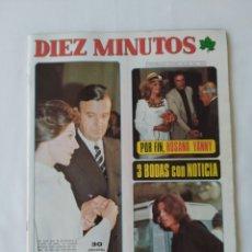 Coleccionismo de Revista Diez Minutos: REVISTA DIEZ MINUTOS NUM.1237,3 BODAS EN NOTICIA, LEONARD NIMOY. Lote 264501069