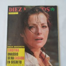 Coleccionismo de Revista Diez Minutos: REVISTA DIEZ MINUTOS NUM.1238,VIRNA LISI,ROGER DALTREY. Lote 264501419