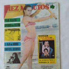 Coleccionismo de Revista Diez Minutos: REVISTA DIEZ MINUTOS NUM.1239, RAPHAEL, ORNELLA MUTTI. Lote 264501889