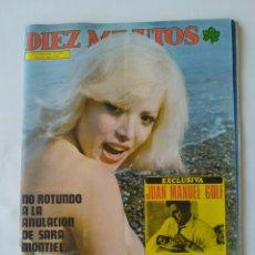 Coleccionismo de Revista Diez Minutos: REVISTA DIEZ MINUTOS NUM.1241,AGATA LYS,GUAPAS CON GAFAS. Lote 264502284