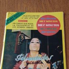Coleccionismo de Revista Diez Minutos: REVISTA DIEZ MINUTOS N°801. LA BAILAORA MARIQUILLA - SONIA BRUNO. Lote 265732089