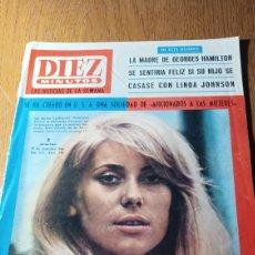 Coleccionismo de Revista Diez Minutos: DIEZ MINUTOS N° 795. CATHERINE DENUEVE- MIKAELA - ROCIO JURADO LA ANDALUZA MAS POPULAR DEL AÑO. Lote 265849594