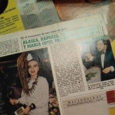 Collectionnisme de Magazine Diez Minutos: REPORTAJE DIEZ MINUTOS CANTANTE OLVIDO GARA ALASKA ENTREGA PREMIOS AÑOS 80. Lote 267532179