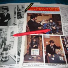 Collectionnisme de Magazine Diez Minutos: RECORTE : UN MAGO LLAMADO JOSE MARIA IÑIGO . DIEZ MINUTOS, NVMBRE 1980(#). Lote 267732399