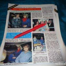 Collectionnisme de Magazine Diez Minutos: RECORTE : BJORN, DEL GRUPO ABBA, CON LENA EN ESPAÑA. DIEZ MINUTOS, NVMBRE 1980(#). Lote 267732609