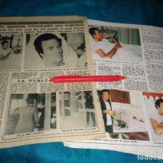 Coleccionismo de Revista Diez Minutos: RECORTE : JULIO IGLESIAS, INTOXICADO POR MARISCO. DIEZ MINUTOS, OCTUBRE 1979(#). Lote 269349903