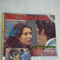 Coleccionismo de Revista Diez Minutos: DIEZ MINUTOS, UN DOS TRES, CHICHO, ANA OBREGON, PAQUIRRI. 1982.VER SUMARIO. Lote 269493543